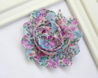 Chiffon Flower Hair Clip