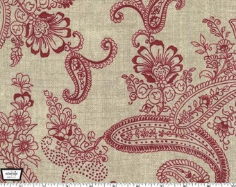 Pristine Paisley - ruby from Michael Miller