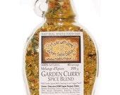 9 oz Garden Curry Eco Artisan Spice Blend Vegan Dairy-Free Gluten-Free - Organic Herb Spice Superfood - DIY Pasta Sauce - Dip Mix - Dressing