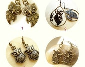 Buy1 Get 1 Free - Owl Collection Earrings EN-53