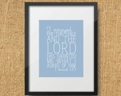 Prayful Scripture Printable Digital Art Print | Instant Download Bible Verse 1 Samuel 1:27