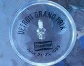 Vintage Detroit Grad Prix Champion Spark Plug Souvenir Paper Weight