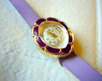 Vintage Towncraft women's Watch Kit Fun Interchangeable faces 17 jewels Swiss Made