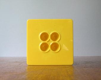 Vintage Dansk Mod Plastic Storage Box / Canister