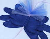 Princess Luna felt wings - My Little Pony wings - Luna Cosplay - Pony wings  Unicorn wings - felt wings - Blue wings - brony wings
