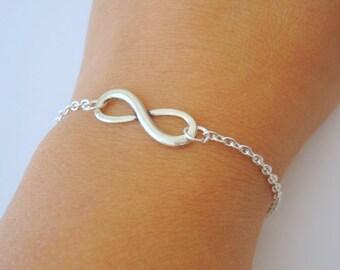 Infinity Bracelet, Infinity Charm Bracelet, Birthday Present, Gift, Bracelet, Teacher Gift