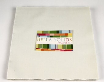 Bella Solid porcel layer cake from Moda fabric 9900lc182