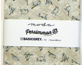 Persimmon charm pack by Basic Grey for Moda fabric