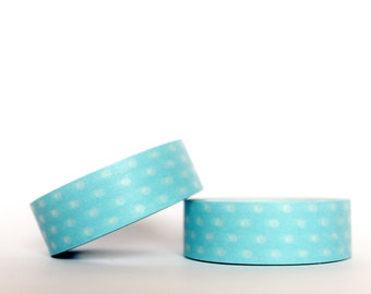 Baby Blue Dots Washi Tape