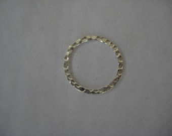 Sets of 10 Hammered metal circles