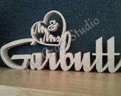 Wooden Mr and Mrs Wedding Plaque.  Personalised wedding signs.