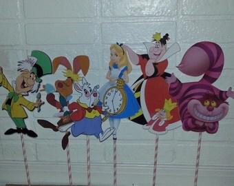 Alice in Wonderland Mad Hatter Centerpiece For Birthday Party Decor