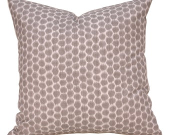 Pillow - Throw Pillows - Ikat Pillow - Dot Pillow