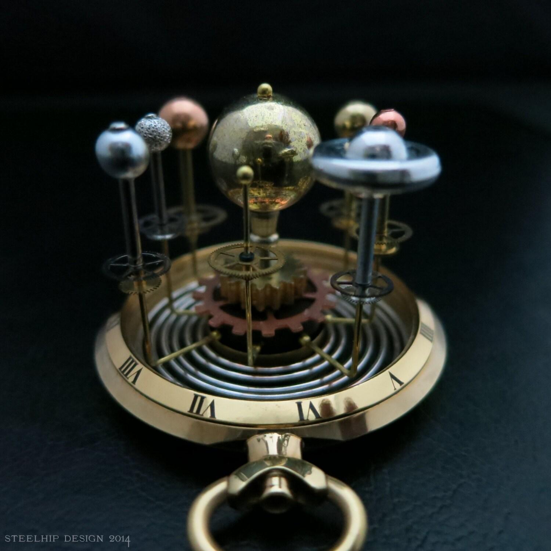 Planetarium Miniatur Vintage Sonnensystem Planet Erde
