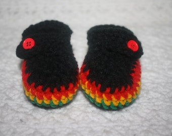 Rasta rastafarian Mary Janes Baby Shower gift- Photo Prop