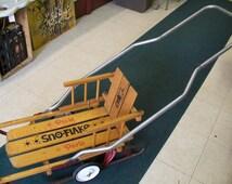 Paris Sno-Flake Kids Sled / Kids First Sled / Push Roll Slide Sled