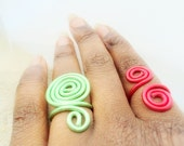 "Swirling Sankofa-"" return and get it""  Ring Adjustable Ring- Stacking Adjustable -Thick rings or Slim rings, Dainty Band rings"