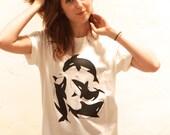 ORCA WHALE tribute to Tilikum t-shirt
