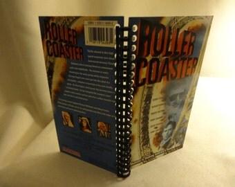 Roller Coaster VHS Box Notebook