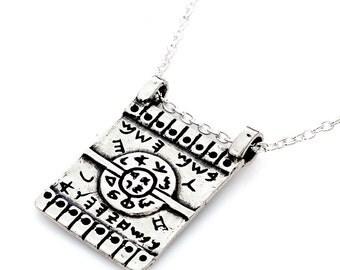 SOUL FINAL CORRECTION amulet,kabala,pendant,gifts,silver,asiyadesign,art,judaica