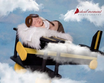 FREE SHIPPING Wooden Airplane Prop photo prop
