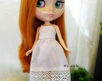Blythe Romantic White Sundress