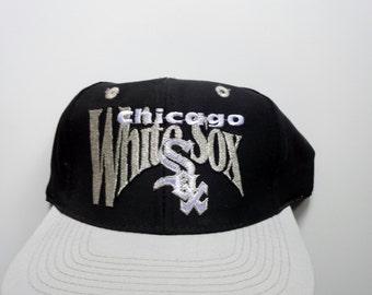 Vintage Chicago White Sox Adjustable Baseball Hat 1980s