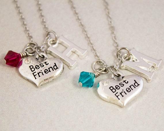 best friends necklaces best friend charm by