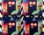 Doctor Who Tardis Inspired Coasters