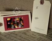 Blurred Christmas Lights Gift Tags - Set of 5
