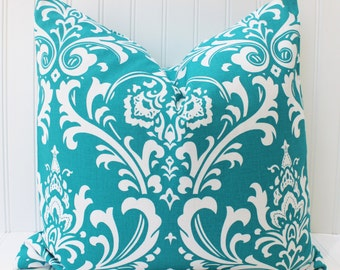 Turquoise Pillow - Decorative Pillow - Throw Pillow - Turquoise Blue Cushion Covers