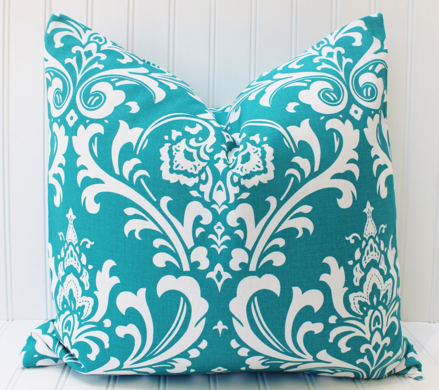 Turquoise Pillow Decorative Pillow Throw Pillow