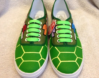 TMNT Shell Shocked custom Vans