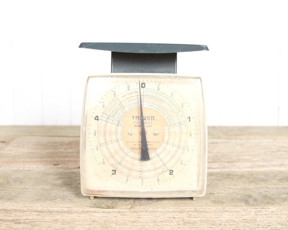 Vintage Scale / Retro Scale / Triner Shipping Package Scale / Shipping Scale / Home Office Decor / Mens Office Decor / Office Desk Decor