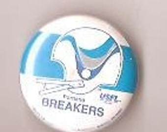Portland Brakers Football team pinback