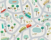Scenic Route by Deena Rutter for Riley Blake Designs, Main Gray, SKU C3660, 1 yd