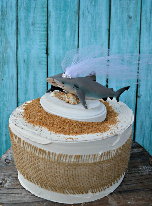 Shark Fin Cake Topper