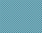Navy Tone-on-Tone Small Dots from Riley Blake Fabrics - C420