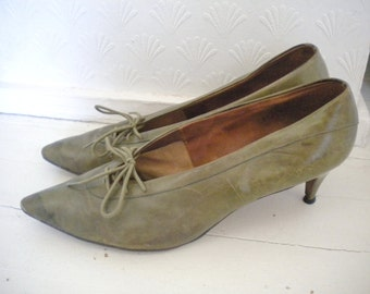 Green 50s shoes