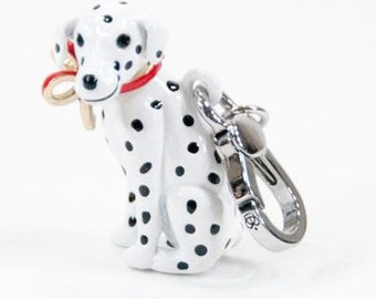 large Dalmation Dog Charm