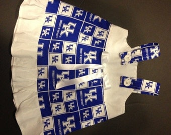 NCAA UKY University of Kentucky Wildcats Baby Infant Toddler Girls Dress  You Pick Size