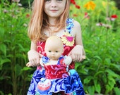 Farrah's Doll Size Peplum Romper PDF Pattern for 15- and 18-inch Dolls