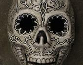 Skull Mask Day of the Dead Sugar Skull Dia de los Muertos