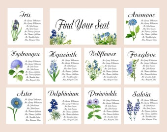 Items similar to Under the Sea Place Cards, Escort Cards, Bat ...