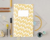 Notebook #1 yellow chevron