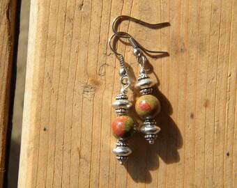 Bali Style Earrings - Choice of Bead