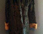 1920s Handmade Vingtage Fur Coat