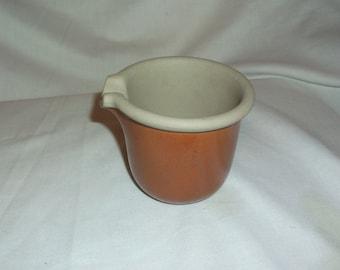 Vintage BENNINGTON Pottery Small Mortar Bowl w/ Spout 1899