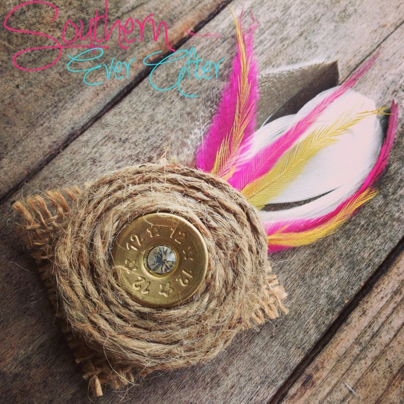 Cork Boutonniere: Items Similar To SHOTGUN SHELL BOUTONNIERE Rustic Bullet