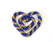 Mother's Love Royal Blue Heart